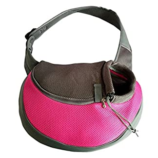BENWEI Classics High-quality Breathable Dog Front Carrying Bags Mesh Comfortable Travel Tote Shoulder Bag For Puppy Cat… 46