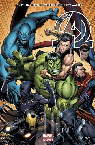 NEW AVENGERS MARVEL NOW T04