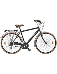 CICLI CLORIA MILANO Bicicleta Duomo Negro