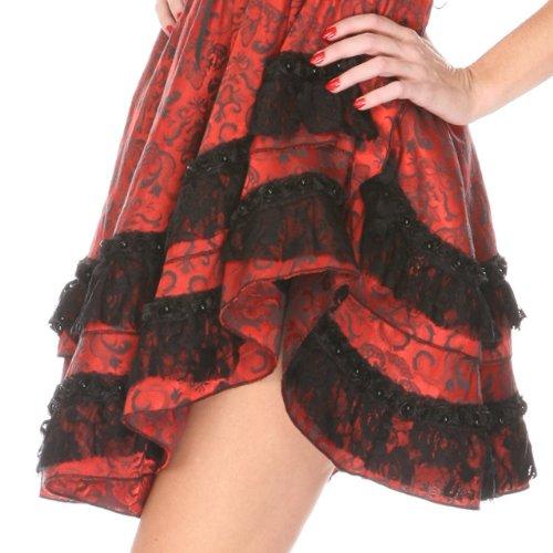 Jawbreaker - Robe -  Femme Rouge - Rouge/noir