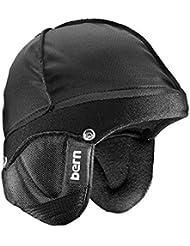 Bern  - Funda de casco para ciclismo, color negro, talla  2X-3X - 60,5-63,5 cm