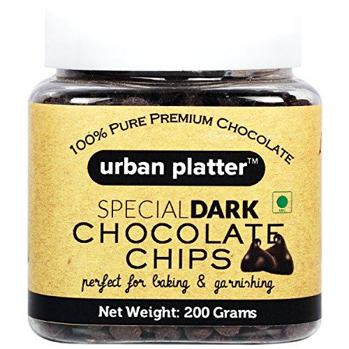 Urban Platter Dark Chocolate Chips, 200g