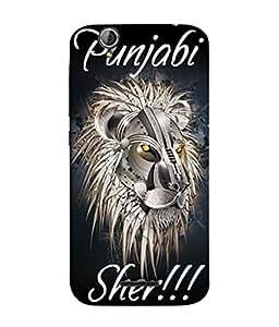 Samken Lion Of Punjab Designer Printed Back Cover Case For Mobile Phone :: Acer Liquid Z630 / Acer Liquid Zade Z630S (3D Printed, Slim Fit, Shock Proof, Hard Plastic, Matte Finish)