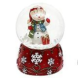 Wunderschöne Schneekugel, Schneemann, Ø 4,5 cm
