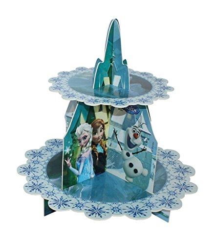 Procos 84635 - Cupcake Ständer Frozen, 2 - Servierplatten Prinzessin Servierplatte