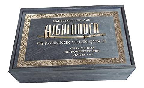 Highlander Holzbox Gesamtedition [Limited Edition] [45 DVDs]