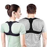 Sichern Sie Korrekter Adjustable Strap-Pain Entlastung in Rücken, Schultern und Hals,Black,XL
