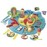 PlayGo - Set de plastilina, 6 botes (Colorbaby 56 gramos) (Colorbaby 8664)