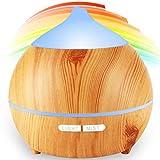 Diffusore di Aromi,avaspot 250 ml ultrasonico aromatico grana di legno umidificatore d' aria nebbia...