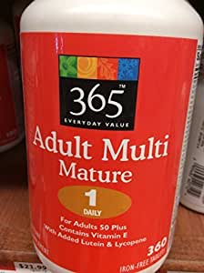 365 Everyday Value Adult Multi Mature - One Daily by Whole Foods Market, Austin TX