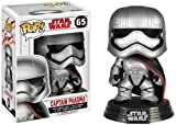 Star Wars - Figuara de Vinilo: Pop! Bobble E8 TLJ: Captain Phasma
