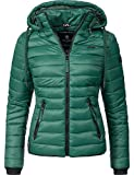 Navahoo Damen Übergangs-Jacke Steppjacke Lulana Jungle Green Gr. S
