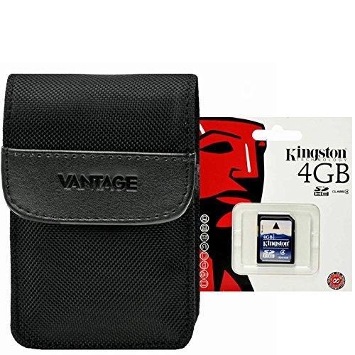 Foto Tasche Vantage 5 + 4 GB SD Karte für Canon SX260 SX270 SX280 und Andre Hersteller