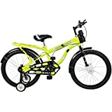 Mad Maxx Humber 20T Steel Single Speed Kids' Road Cycle, 20 Inches for 7 to 10 years kids (Neon Green)
