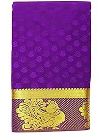 Saravanabava Silks - Kanchipuram Silks Sarees (Art Pattu Plain Empossed SRBS0321 )