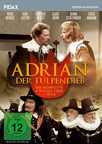 Adrian, der Tulpendieb / Die komplette 6-teilige Abenteuerserie (Pidax Serien-Klassiker) [2 DVDs]