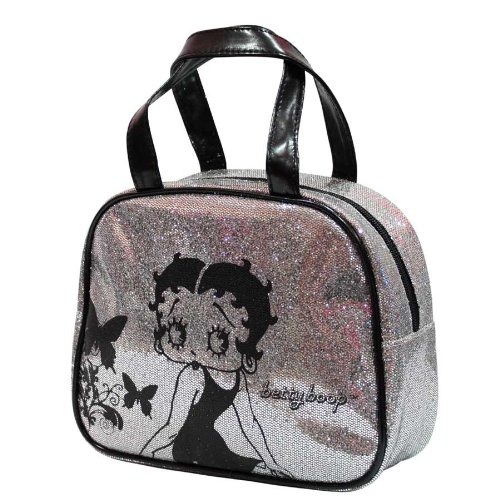Betty Boop - Glitter - Toiletry und Make-up Bag, 1er Pack (1 x 250 (Betty Make Up Boop)