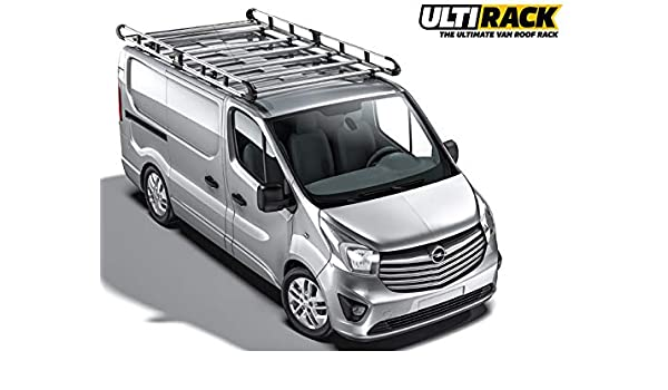 Van Roof Racks >> Ulti Van Roof Rack Renault Trafic 2014 On 8 Bar Twin Door L2h1