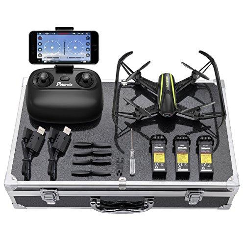 Potensic Drone avec Configuration de Luxe, Avion RC Caméra HD WiFi FPV 2,4Ghz 6-Axis Gyro Maintien de l