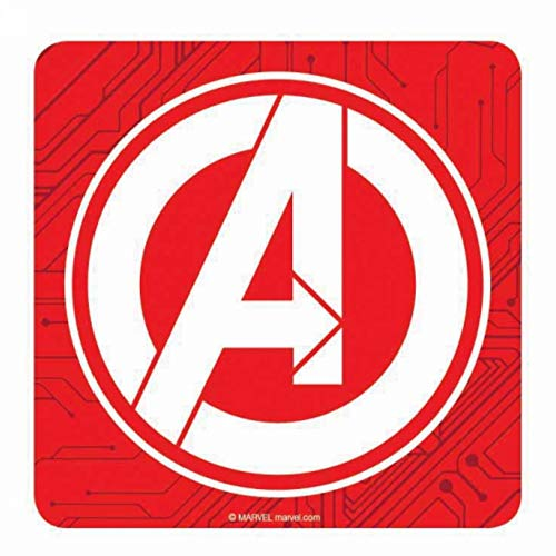 Original Marvel Comics Avengers Logo Single Untersetzer Getränkematte Vintage Retro