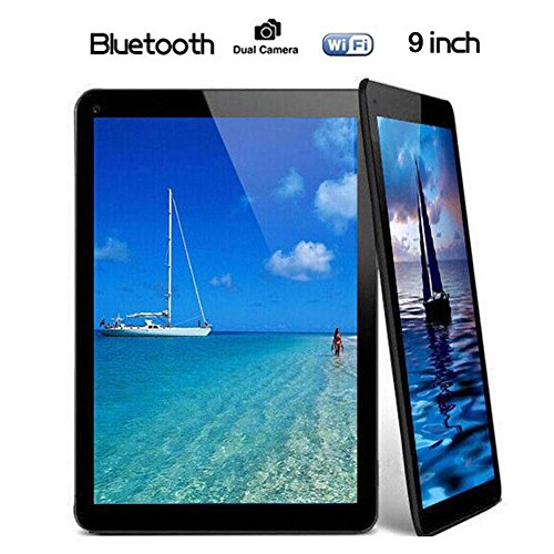 "Tiptiper N98 9 ""Android 4.4 EU Plug Tablet PC A33 Quad Core 1.2GHz 1GB RAM+16GB 4000mAh WIFI Black"