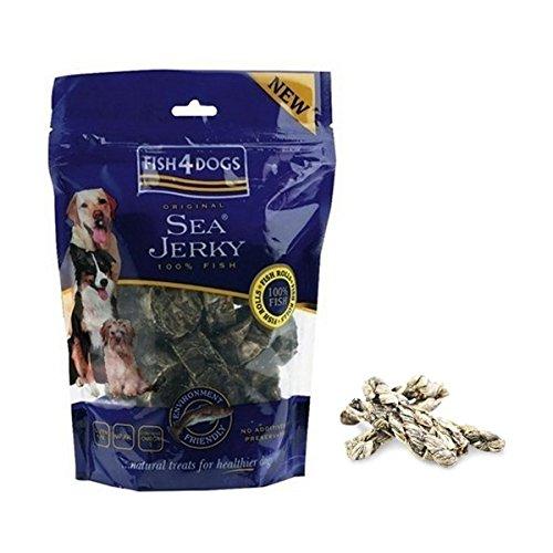 Fish4Dogs - Fish 4 Dogs Sea Jerky Squares - 309 - 100 Grs. (Squares Sea Jerky)