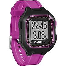 Garmin Forerunner 25 Reloj Deportivo Producto refurbish, Negro/Morado, S (Reacondicionado Certificado)