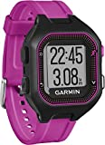 Garmin Forerunner 25 GPS Running Watch - Small, Black/Purple