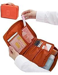 Sellus Multifunction Travel Toiletry Women Makeup Kit Cosmetic Bag Case  Organizer Packing Travel Bag Men Women 30959432a8e8f