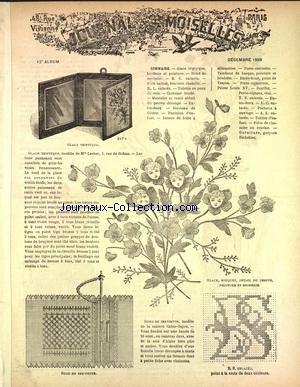JOURNAL DES DEMOISELLES PARIS [No 12] du 01/12/1889