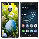 OB-star ( Búsqueda de huevos de Pascua ) Huawei P9+ Plus (Not for P9) Impreso Colorido Protector...