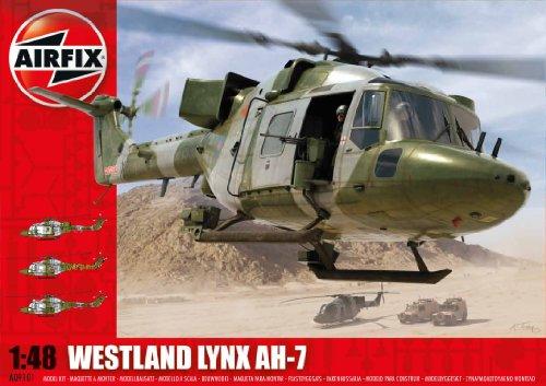 Airfix a09101 westland army lynx ah1-7 - kit per modellismo, elicottero militare, serie 9, scala 1:48