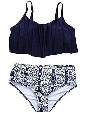 SHOBDW Bikini Mujer Conjunto Push-up Acolchado Traje de Baño Bañador Traje 2018