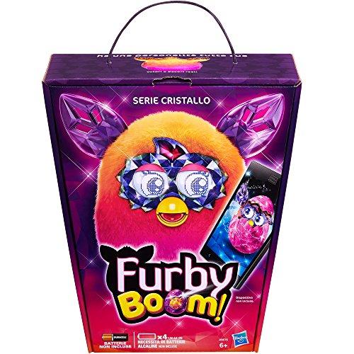 Preisvergleich Produktbild Furby A9615IC0 - Furby Boom Crystal, Arancio a Rosa