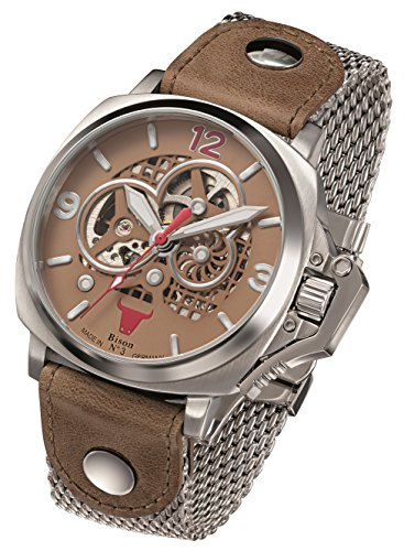 Armbanduhr Bison -Bison No. 3- BI0003BRMB