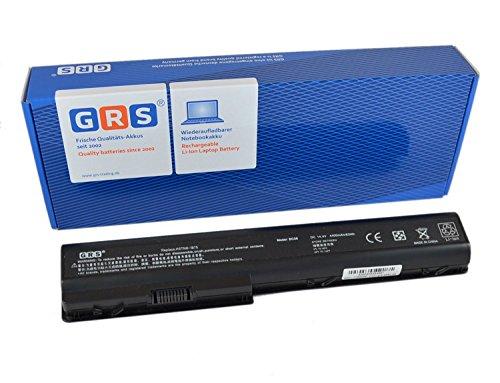 GRS-Batería para portátil HP Pavilion dv7, dv8, HDX X18Serie, sustituye a:, HSTNN-IB74, HSTNN-IB75, HSTNN-C50C, HSTNN-Q35C, 464059-121, 464058-251, HSTNN-IB74,, HSTNN-DB75, Laptop Batería 4400mAh, 14.4V/14,8V