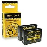 2x Batteria LP-E17 per Canon EOS M3 | 750D | 760D | Rebel | T6i | T6s | Rebel T6i | Rebel T6s | 8000D | Kiss X8i | EOS Kiss X8i
