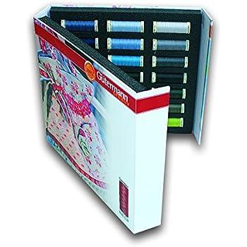 Gutermann 700894 Paquet de Fil Coton Multicolore 20 x 0,3 x 5 cm