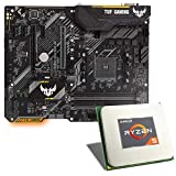 AMD Ryzen 5 2600 / ASUS TUF B450-PLUS Gaming Mainboard Bundle | CSL PC Aufrüstkit | AMD Ryzen 5 2600 6X 3400 MHz, GigLAN, 7.1 Sound, USB 3.1 | Aufrüstset | PC Tuning Kit