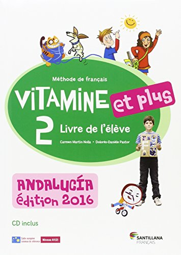VITAMINE ET PLUS 2 ELEVE+CD ANDALUCIA