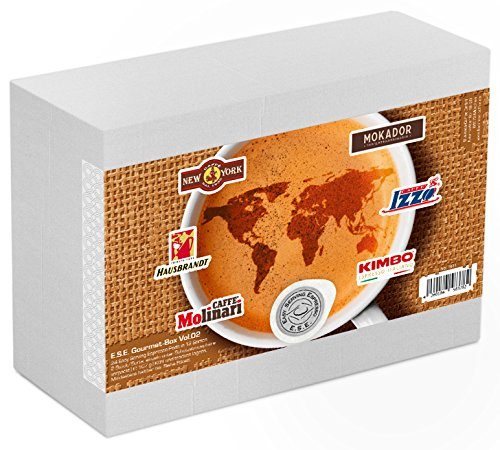 Business-Coffee Probierset 'ESE Gourmet Volume 02' mit 24 Espressopads,1er Pack (1 x 168 g)