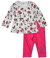 Con una bella stampa glitter; Collo: girocollo; Pantaloni con cintura elasticizzata comoda; Bottoni automatici sulle spalle; jersey; 100 % cotone / Grigio: 60 % cotone, 40 % poliestere