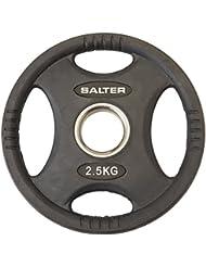 SALTER D272 Discos de Caucho, Unisex Adulto, Negro