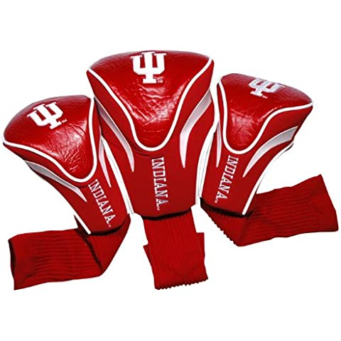 NCAA Indiana Hoosiers 3 Pack Contour Golf Club Headcover