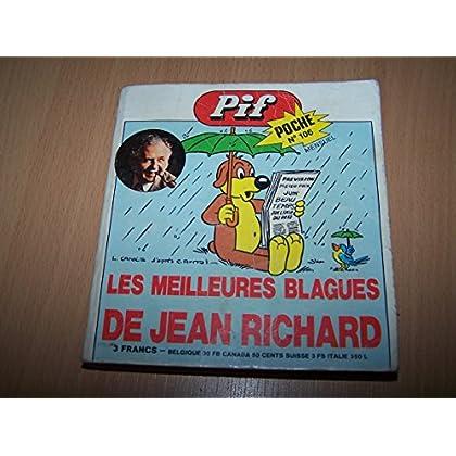 Pif poche N° 106 - Les meilleures blagues de Jean Richard - Mai 1974