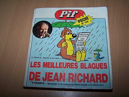 Pif poche N° 106 - Les meilleures blagues de Jean Richard - Mai 1974 par Collectif