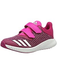 adidas Unisex Kids' Fortarun CF K Gymnastics Shoes, Rot, 11K UK Child