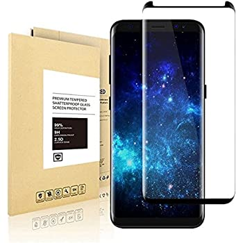 Samsung Galaxy S8, Linboll Film Protection d'écran en Verre Trempé Glass Screen Protector Vitre