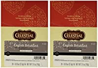 Celestial Seasonings English Breakfast Black Tea K-Cup 48 Count Case for Keurig Brewers