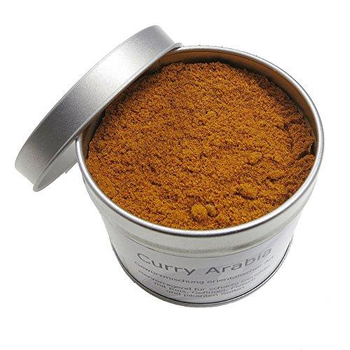 Mezcla de especias Curry rojo Arabia picante 70g ? Mezcla original de especias para tajín, cuscús, carne, pollo, pescado, verduras y arroces ? sin sal, vegetariano